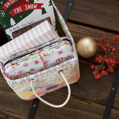 DIY Handmade Storage Fabric Basket Tutorial