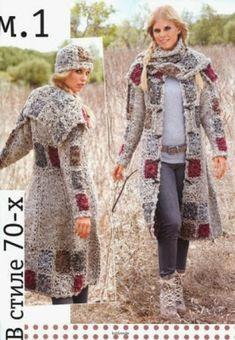 Transcendent Crochet a Solid Granny Square Ideas. Inconceivable Crochet a Solid Granny Square Ideas. Gilet Crochet, Crochet Jacket, Crochet Cardigan, Knit Crochet, Crochet Squares, Crochet Granny, Granny Squares, Granny Square Sweater, Crochet Slippers