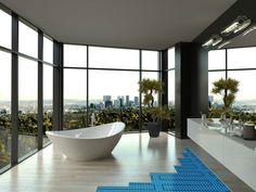 49 luxury bathroom apartment ideas modern bathroom design by architect interior Bathroom Luxury, Modern Bathroom Design, Bathroom Interior Design, Master Bathroom, Timeless Bathroom, Bathroom Designs, Gray Bathrooms, Luxury Interior Design, Interior Exterior