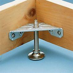 Buy Corner Bracket Levelers, 4 pack at Woodcraft.com #woodworkathome #WoodworkingTools