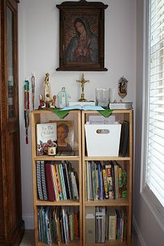 Holy Family Classical Academy: Creating a Home Altar.