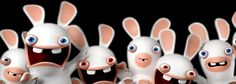 Absent of dialog, the Raving Rabbids finally invaded primetime on Nickelodeon - Rabbids Invasion