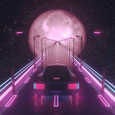 vaporwave, vehicle, a e s t h e t i c, gif, Vaporwave Neon Aesthetic, Aesthetic Videos, Mean Girls, Vaporwave Gif, Car Gif, Pink Moon, Retro Waves, League Of Legends, Aesthetic Wallpapers