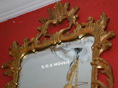 Espelho Dourado | SOS Móveis Antigos