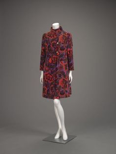 Coat Bill Blass, late 1960s The Indianapolis Museum of Art