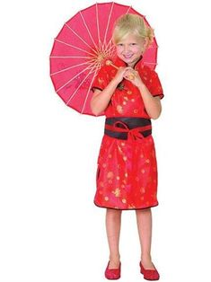This lovely Chinese costume for kids would be perfect for a Chinese New Year party. Pick it up at partydelights.co.uk.