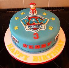 Paws patrol cake