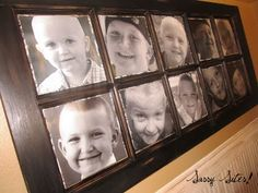 from door to wall... beautiful picture frame. would be great to transfer pics on there. old pictures you won't get tired of