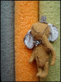 elephant pattern plus mohair. kit. moscow via etsy. diy.
