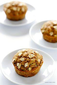 Healthy Zucchini Muffins   gimmesomeoven.com