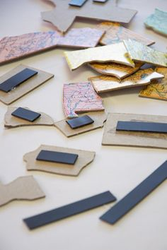 Turn any puzzle into magnetic puzzle - genius!