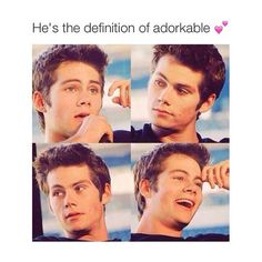 That's pretty much the definition of Dylan O'Brien. @GoddessO.TMoon
