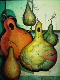 art & gourds & gourds - by Alexis Preller