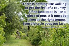 #walkingquote, Caw Caw, Joan Perry