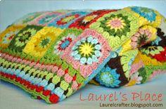 Le plaid :Bibelots Crochet Blanket de grand-mère