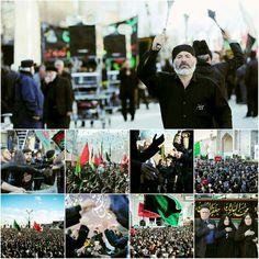 [ Believers Mourn the Martyrdom of Prophet Muhammad in Imam Ali al-Ridha Holy Shrine ]  #28Safar1437 #LabbayakYaRusullah
