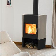 Harrie Leenders Stoves |   Harrie Leenders Mats Wood Burning Stove