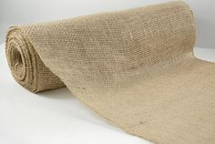 "Burlap Jute Roll 10 yards (30 foot) x 14"" wide, Wedding Table, Isle Runner, Centerpiece, all natural, go green"