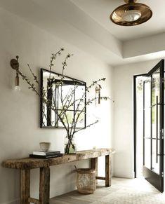 Flur Design, Home Design, Home Interior Design, Interior And Exterior, Interior Decorating, Farmhouse Interior, Modern Farmhouse, Decorating Ideas, Design Ideas