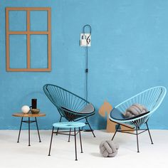 OK Design Acapulco tuoli, vaaleansininen | Ulkohuonekalut | Piha/puutarha | Finnish Design Shop
