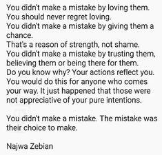 ~ Najwa Zebian