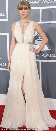 Keeping it classic: Taylor Swift stole the show at the Grammy Awards in downtown Los Angeles on Sunday night