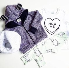 Unique - Handmade - Baby + Toddler Clothing Made with love in Toronto, Canada Baby Co, Hug Me, Handmade Baby, Baby & Toddler Clothing, Little Man, Lavender, Hearts, Babies, Hoodies