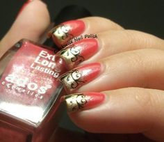 The Clockwise Nail Polish: Ados Cosmetics 527 & Zoya Ziv & French stamping