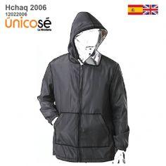 CHAQUETA CON VISOR HOMBRE 2006 mod='ptsblockrelatedproducts' Patterned Bomber Jacket, New Product, Raincoat, Jackets, Fashion, Mens Casual Jackets, Zippers, Patterns, Rain Jacket