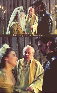 the right is better. Best part ever!!! BBC Robin Hood
