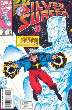 Silver Surfer Vol. 3 # 90 by Ron Lim & Keith Aiken