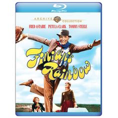 """Finian's Rainbow (1968) (Blu-ray)(Mod) from Warner Bros.: """"He wears a ratty old cardigan instead of tails, a… #Movies #Films #DVD Video"""