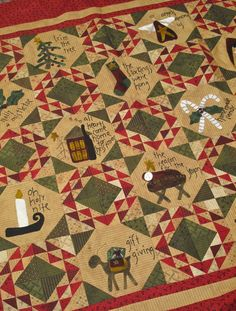 """""""Home For The Holidays"""" Quilt"""