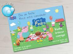 Peppa Pig Festa Piquenique Kit Digital