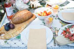 A garden to table summer feast