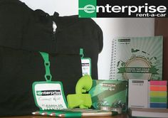 Examples of our work - bespoke range for our clients at Enterprise rent-a-car 2016