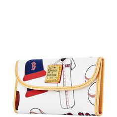 Red Sox Continental Clutch
