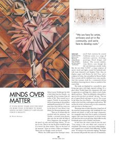 Please check out my art story in the new issue of Riviera Orange County magazine!