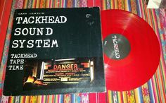 GARY CLAIL'S TACKHEAD SOUND SYSTEM - Tackhead Tape Time LP red vinyl