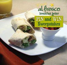 al fresco Country Style Chicken Sausage Breakfast Burritos #BreakfastBetter https://a.pgtb.me/hdSJtP