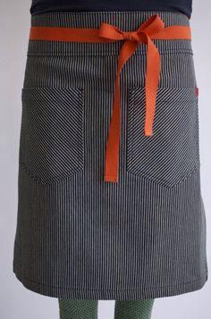 custom fabric and colour aprons