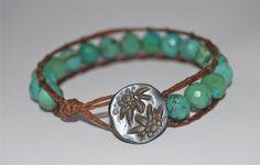 Make your own beaded wrap bracelets