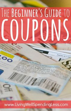 DIY:  The Beginner's Guide to Coupons.  The BEST free online step-by-step guide to learning how to extreme coupon.  Breaks the whole process down into easy-to-follow baby steps that ANYONE can learn!