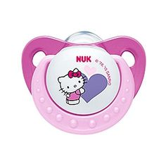 NUK Hello Kitty Baby Pacifier Months Silicone Girl Pink Soother for sale online Hello Kitty Nursery, Hello Kitty Baby, Bb Reborn, Reborn Babies, Nuk Pacifier, Pacifiers, Baby Binky, Baby Supplies, Baby Bottles
