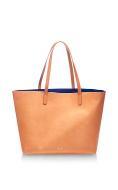 Large Leather Tote In Caramel by Mansur Gavriel