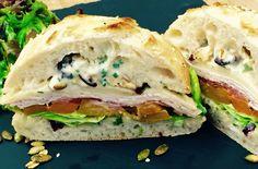 Fall seasonal sandwich at Pitchoun! With honey roasted squash