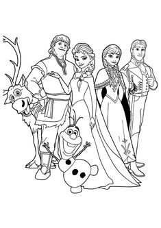 You like the disney frozen animated movie?Then get more fun coloring frozen coloring pages.Click this pin for more. frozen coloring pages Frozen Coloring Sheets, Frozen Coloring Pages, Princess Coloring Pages, Cute Coloring Pages, Cartoon Coloring Pages, Coloring Pages To Print, Adult Coloring Pages, Coloring Pages For Kids, Coloring Books