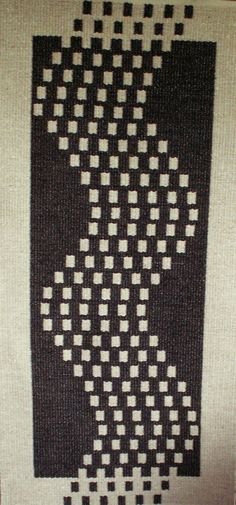 The rugs pictured here are woven on large floor looms using shaft switching and producing very durable thick rugs. The warp is linen and the weft is New Zealand carpet wool. The shaft switching dev…