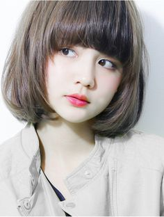 New Hair Bangs Texture 20 Ideas Hairstyles With Bangs, Trendy Hairstyles, Girl Hairstyles, Girl Short Hair, Short Hair Cuts, Short Bangs, Korean Short Hair Bangs, Medium Hair Styles, Short Hair Styles