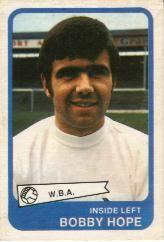 Bobby Hope (A&BC Gum Cards 1968/69)